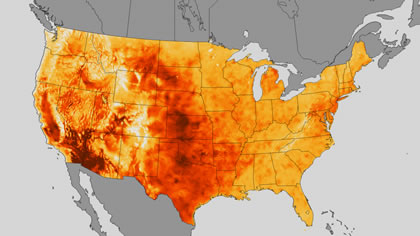 USA Heat Map