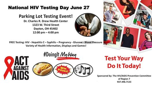 HIV Testing Day at Drew Health Center