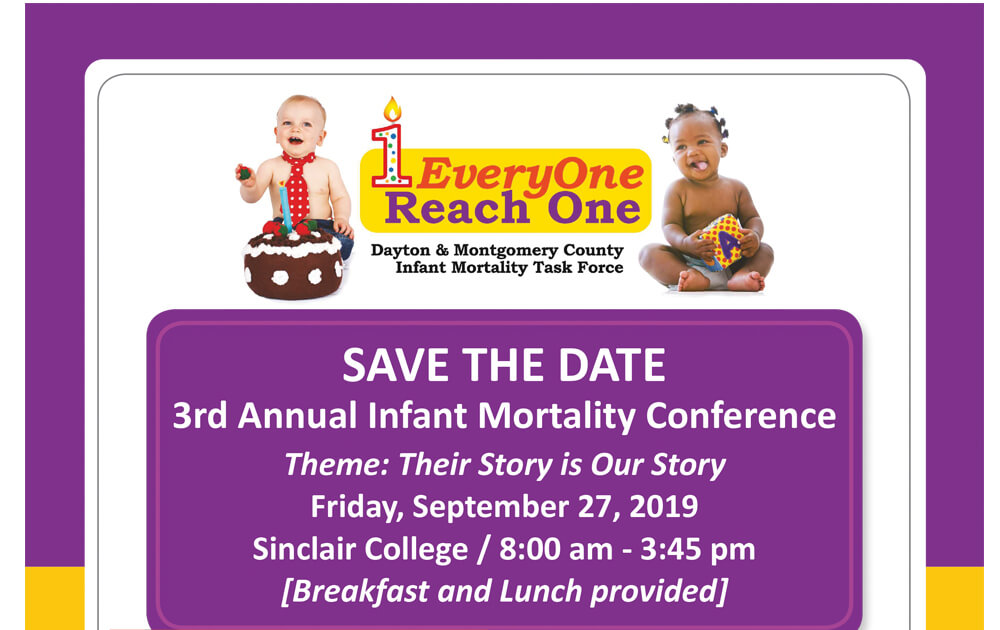 SAVE THE DATE - 3rd Annual Infant Mortality Conference