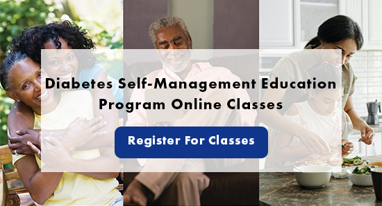 Diabetes Self-Management Education Program Online Classes