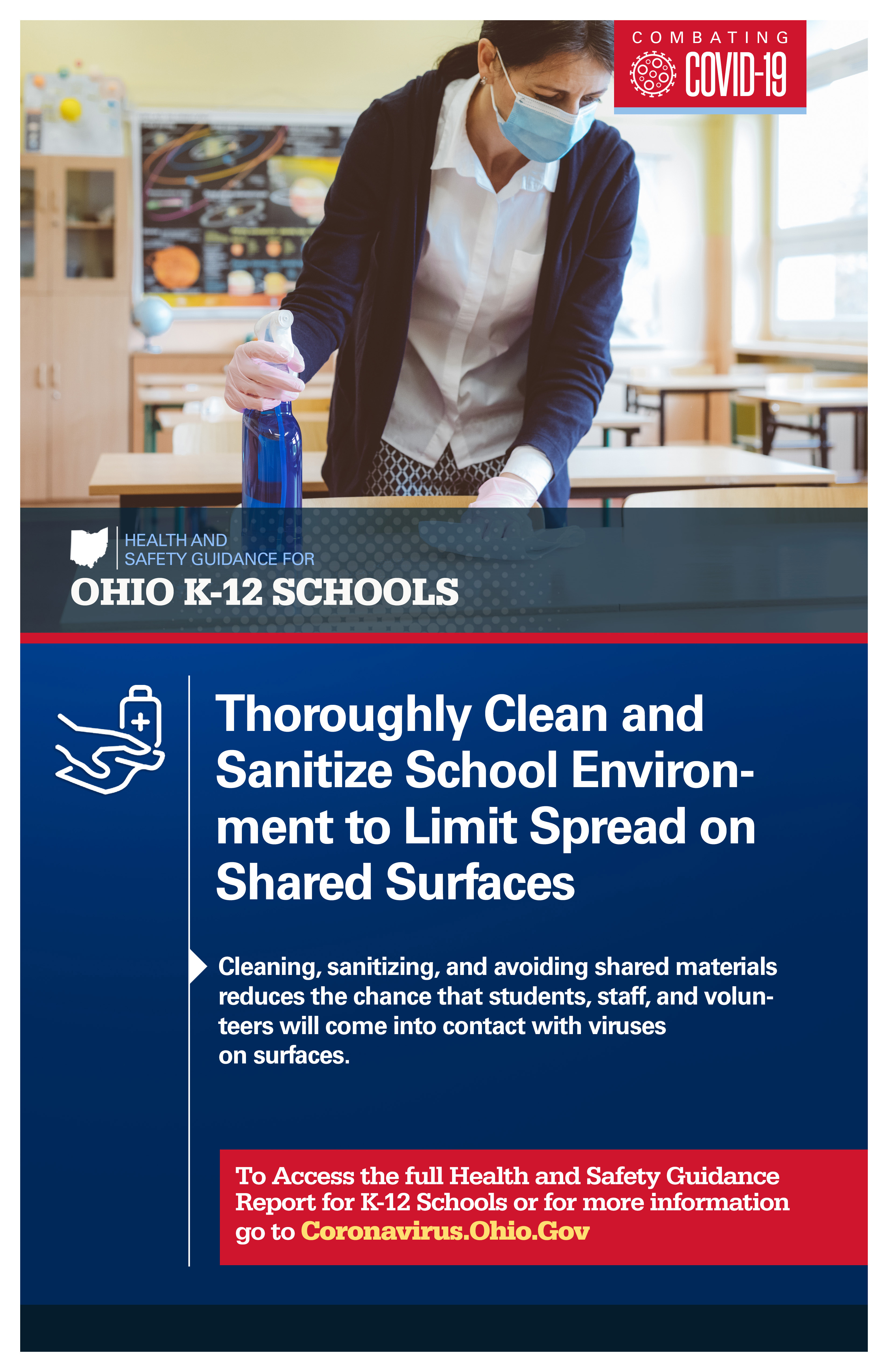 Clean Surfaces Poster