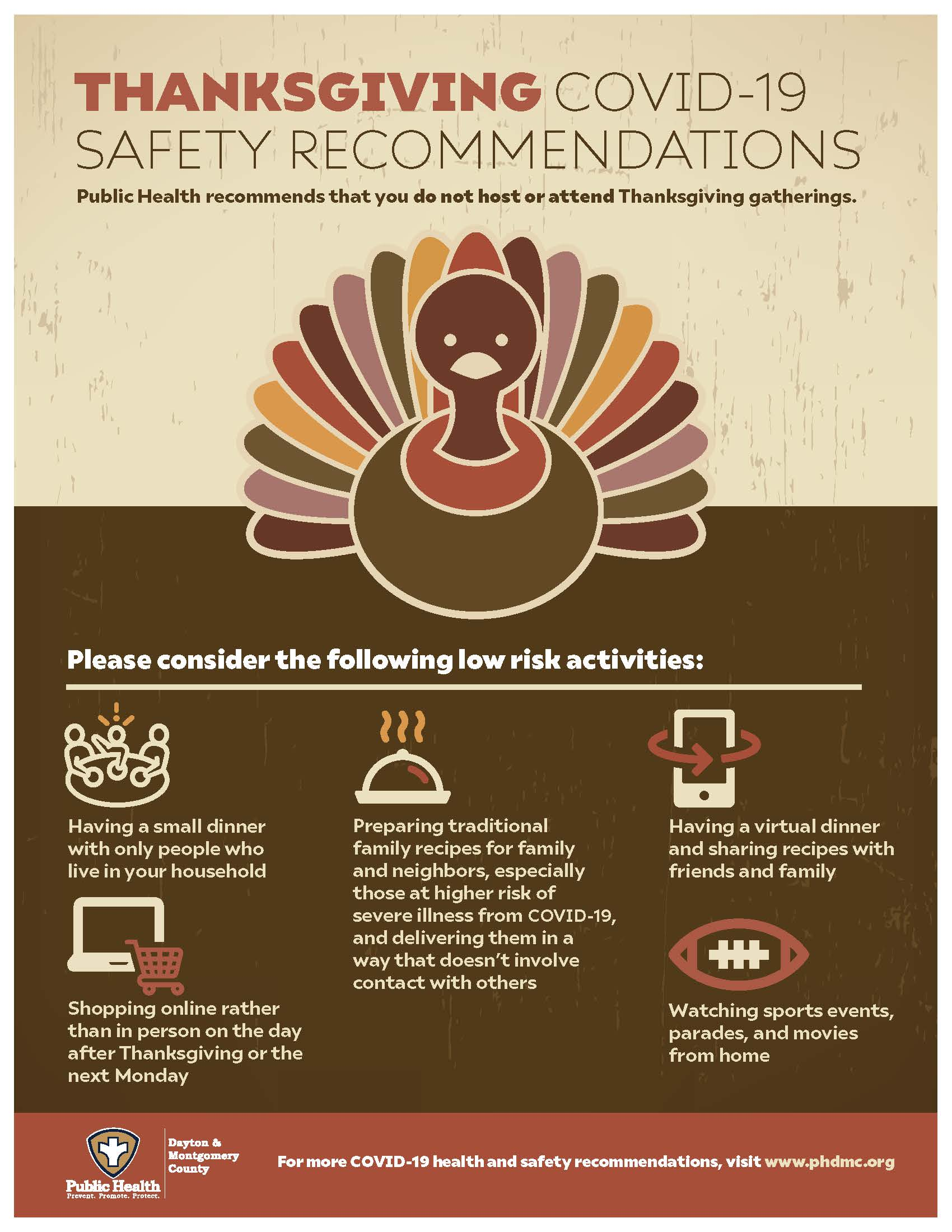 Thanksgiving COVID-19 Safety Recommendation