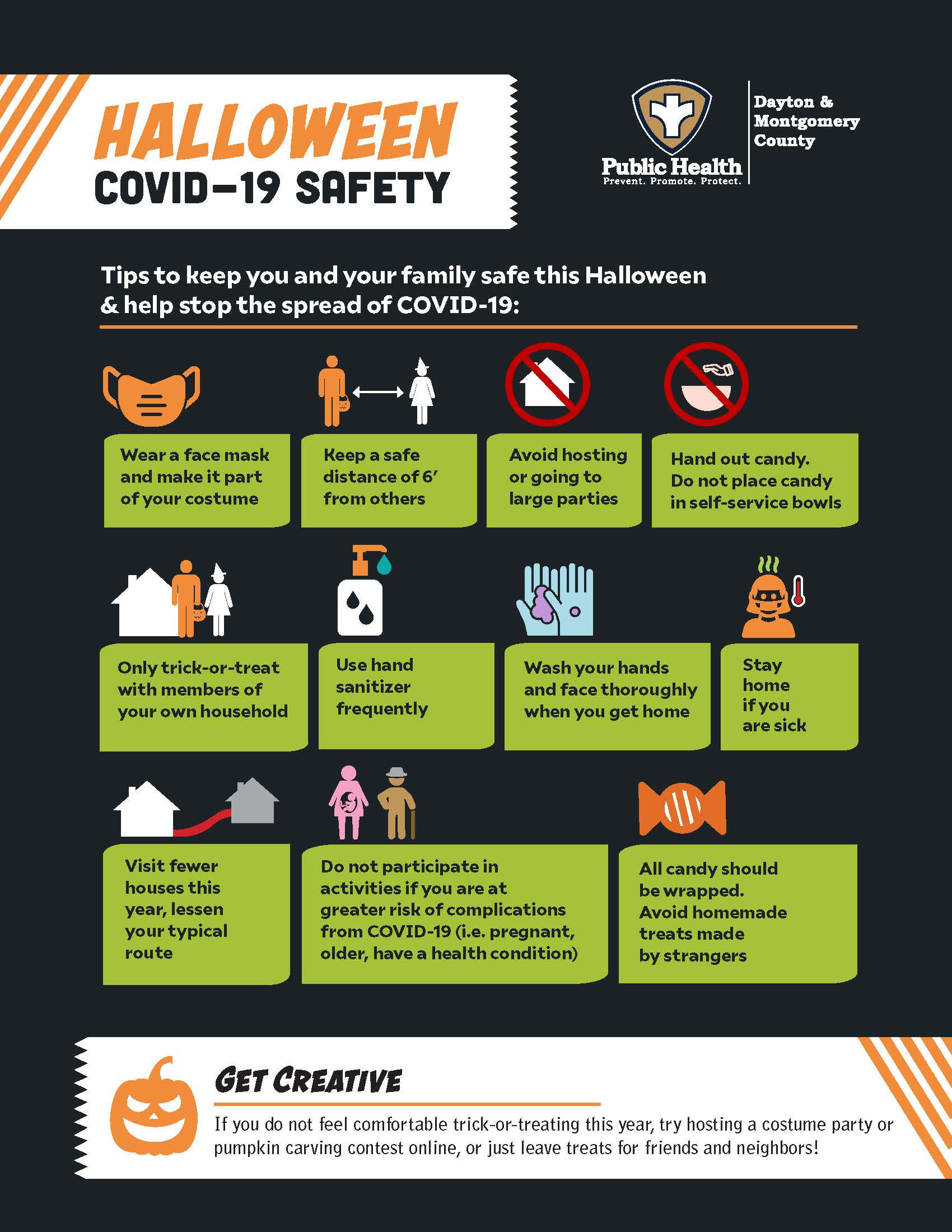 Trick or Treat COVID-19 Safety Tips